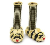 Bizzie the Bee Adult Slippers with Socks