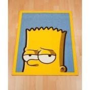 Childrens/Kids Boys Bart Simpson Bedroom Floor Rug/Mat (65cm x 90cm)