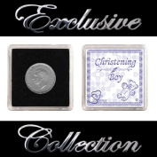 "LUCKY SIXPENCE FOR CHRISTENING ""BOY"""