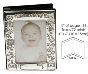 Christening Day Photo Album - Holds 72 10cm x15cm Pictures