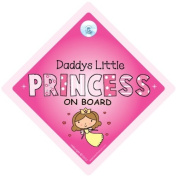 Daddy's Little Princess, Daddy's Little Princess Car Sign, Baby on Board Sign, Baby on Board, Decal, Baby Sign, Baby Car Sign, Princess Sign, Princess Car Sign, Bumper Sticker, Decal, Princess On Board Sign, Daddys Princess Car Sign, Baby ..