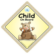 Child On Board, Baby On Board, Brown Bear, Baby on Board Car Sign, Baby on Board, Decal, Bumper Sticker, Baby Sign, Baby Car Sign, Baby On Board Signs, Kid's On Board, Children on Board Car Sign, Decal