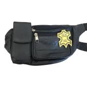 PURE LEATHER BUM BAG/WAIST BAG