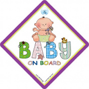 Baby on Board Sign, Patch Unisex, Baby on Board Car Sign, baby on board, Unisex Baby Sign, Bumper Sticker Style