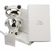 Silver-plated Bear Money Box
