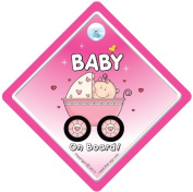 Baby on Board Sign, Baby on Board Car Sign, Pink Buggy 2, Baby on Board, Decal, Bumper Stciker, Baby Sign, Baby Car Sign, Baby Car Sign
