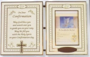 CONFIRMATION CERTIFICATE in Metal Plaque Size 11'' x 6 3/4''
