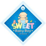 Sweet Baby Boy, Sweet Baby Boy On Board, Car Sign, Baby on Board Car Sign, Baby on Board, Baby Sign, Baby Car Signs, Baby On Board Sign, Baby Car Signs, Baby Boy Car Sign, Decal, Bumper Sticker