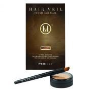 FHI Heat Hair Veil Powder Hair Filler for Fuller, Richer & Thicker Hair - Red Brown