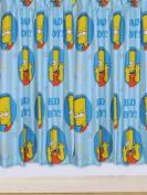 Simpsons 'Mischief' Curtains 140cm Drop