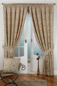 Tapestry lined curtain 66inch x 90inch