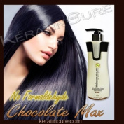 KERATIN HAIR TREATMENT 440ml CHOCOLATE MAX BIO-BRAZILIAN NEW BY KERATIN CURE