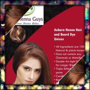 1 Pack Auburn Henna Hair & Beard Colour / Dye 100 Grammes - Chemicals Free Hair Colour - The Henna Guys