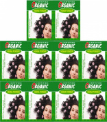 (Qty. 10) 100g Certified Organic Henna Powder for Hair Colour Conditioning. Golden Brown Colour.