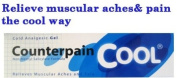 1x120g COUNTERPAIN COOL GEL ANALGESIC BALM MUSCLE PAIN RELIEF RELIEVES ACHES