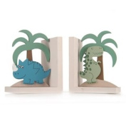 Sass & Belle Dino Bookends - 12 X 21 Cm