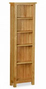 Lanner Oak Tall Narrow Bookcase