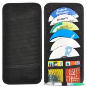 TRIXES 12 Disc CD Holder for your Car Sun Visor