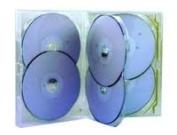 Amaray 6 way dvd/cd case - 5 pack