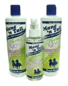 Mane 'n Tail Herbal Gro Shampoo & Conditioner Olive Oil Complex with Hair n Root Strengthener
