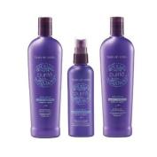 Bain De Terre Moisture Purite Set Shampoo, Conditioner & Leave-in Elixer 400ml/4.2