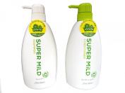 Shiseido Super Mild - Shampoo and Conditioner