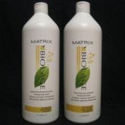 Matrix Biolage Smooththerapie Smoothing Shampoo and Conditioner 1000mls