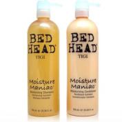 Tigi Bed Head Moisture Maniac Moisturising Shampoo 25.36oz(750ml) & Moisturising Conditioner 25.36oz