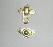 (Z1) Gold Toggle Case Catch Box Trinket Chest Latch Trunk Clasp box nails