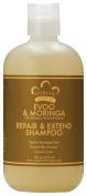 Nubian Heritage - Evoo & Moringa Repair & Extend Shampoo, 350ml liquid