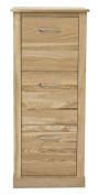Mobel Oak Three Drawer Filing Cabinet