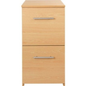 Essentialz HSB Value Range 2 Drawer Filing Cabinet - Beech Effect with Microfibre HSB Cleaning Glove