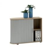 FMD Möbel Filing Cabinet Profi 11, 72.0 x 93.5 x 39.0 cm, Oak