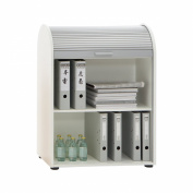 FMD Möbel Filing Cabinet Profi 11, 72.0 x 93.5 x 39.0 cm, White