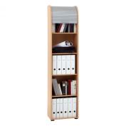 FMD Möbel Filing Cabinet Profi 33, 45.5 x 190.0 x 39.0 cm, Beech
