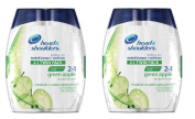 SCS Head & Shoulders 2-in-1 Shampoo & Conditioner - 2/700ml x2