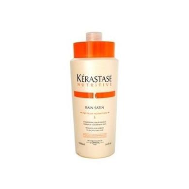 Kerastase Nutritive Bain Satin 1 Shampoo Normal to Slightly Dry - 1010ml Litre
