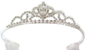 Perfect Pear Princess Rhinestone Crystal Tiara ~ Perfect Pageant Prom or Wedding