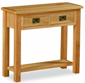 Lanner Oak Console Table