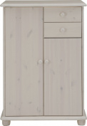 Max Whitewash 2 Door/ 2-Drawer Sideboard