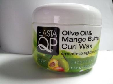 Elasta QP Olive Oil & Mango Butter Curl Wax 150ml