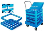 Lacor-69211-TROLLEY FOR RACKS WITH HANDLE