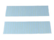 40 Pieces 3.8cm Inches Wide Adhesive Double Side Tape for VIVID Skin Weft Seamless Tape Hair Extension