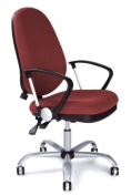 Eliza Tinsley High Back Task Operator Armchair With Silver Effect Base