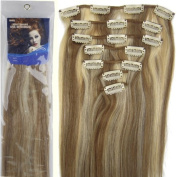 20''7pcs Fashional Clips in Remy Human Hair Extensions 24 Colours for Women Beauty Hot Sale