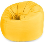 X-L Beanbag Chair Yellow Water resistant Bean bags for indoor and Outdoor Use make Great Garden Seats