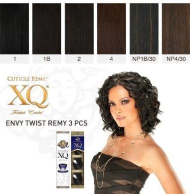 Cuticle XQ Remy - ENVY TWIST REMY 3pcs