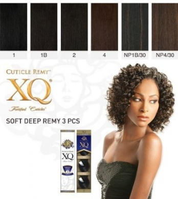 Cuticle XQ Remy SOFT DEEP REMY 3pcs
