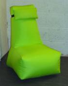 Zippy - Child Bean Bag Computer Chair - Wipe Clean Fabric - Lime Green