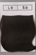 Hairdo Clip In Bangs - Dark Chocolate, R6